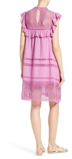 Women's Sea Baja Lace Cotton Swing Dress 4