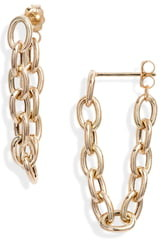 Chicco Zoe Big Oval Chain Earrings