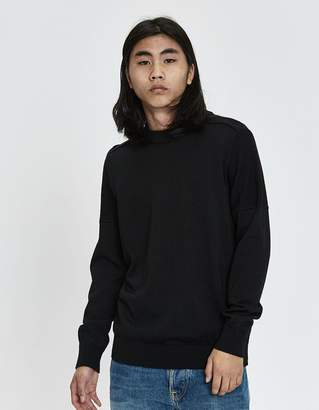 S.N.S. Herning Fatum Crewneck Sweater in Black