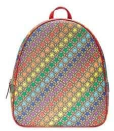 Gucci Kid's Mini Stars Canvas Backpack