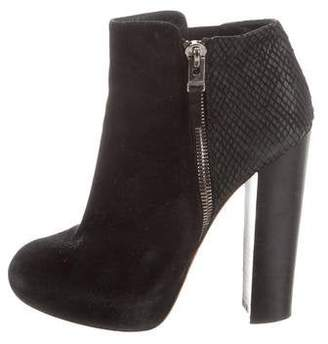 Brian Atwood Platform Ankle Boots