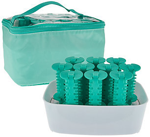 Conair Set of 10 Silicone Hot Rollers with Travel Pouch $59.75 thestylecure.com