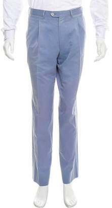 Luciano Barbera Pleated Chino Pants