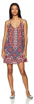 Angie Women's Printed Double Strap Sundress