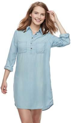 So Juniors' SO Utility Shirt Dress