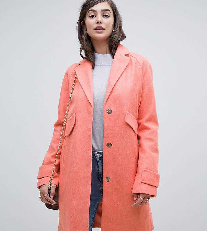 ASOS Tall ASOS TALL – Mantel mit Taschen