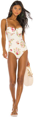 Zimmermann Honour Balconette One Piece