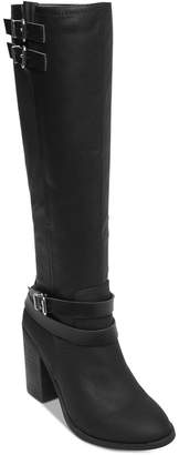 Madden-Girl Edrea Wide Calf Block-Heel Boots