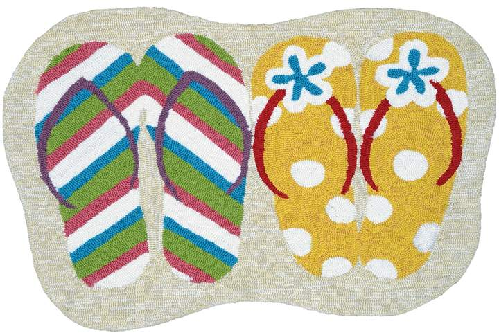 CouristanCouristan Covington Accents Summer Sandals Indoor Outdoor Rug - 2' x 3'