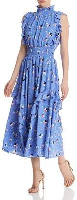 Nanette Lepore nanette Ruffled Floral Dress