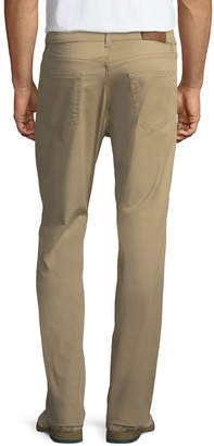 Luciano Barbera Five-Pocket Straight-Leg Trouser Pants