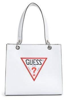 GUESS Logo-Patch Shopper
