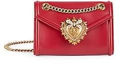 Dolce & Gabbana Dolce& Gabbana Dolce& Gabbana Women's Mini Devotion Leather Crossbody Bag