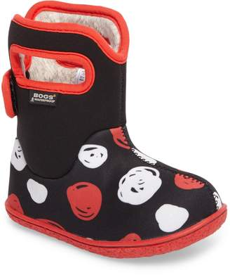 Bogs Baby Classic Sketched Dots Washable Insulated Waterproof Boot