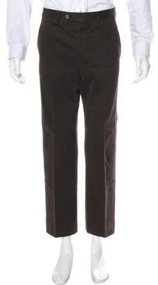 Giorgio Armani Flat Front Pants