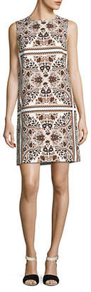 Max Mara Berto Printed Sheath Dress