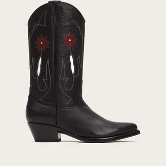 The Frye Company Rancher Flower Mid