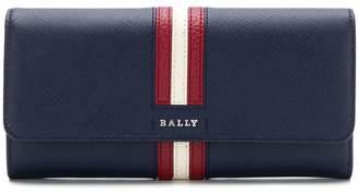 Bally striped square purse