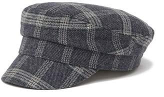 August Hat Plaid Flat Cap