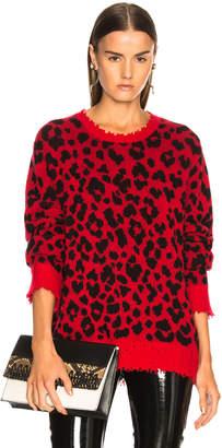R 13 Leopard Sweater