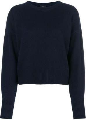 Theory cashmere round neck jumper