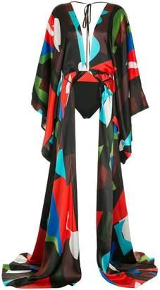 SOLACE London kimono style bodysuit