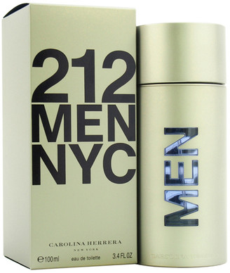 Carolina Herrera Men's 212 3.4Oz Eau De Toilette Spray