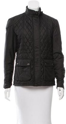 Belstaff Quilted Lightweight Jacket $300 thestylecure.com