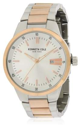 Kenneth Cole New York Kenneth Cole Two-Tone Stainless Steel Mens Watch KCC0131002