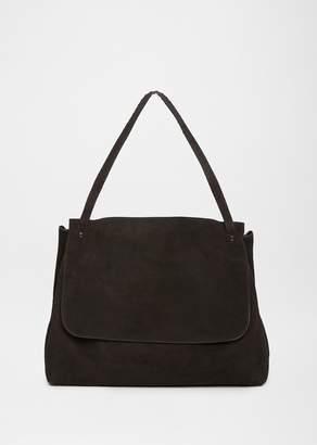 The Row Top Handle 14 Bag Black