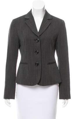 Lafayette 148 Tweed Notch-Lapel Blazer