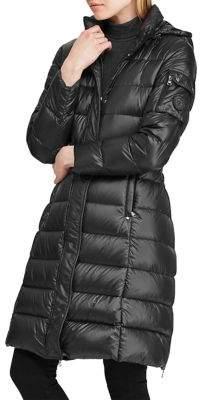Lauren Ralph Lauren Quilted Hooded Down Jacket