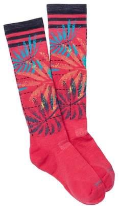 Smartwool PhD Slope Le Palms Pattern Knee High Socks