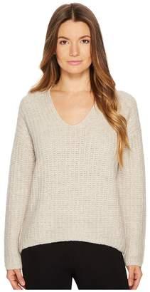 Vince Deep V-Neck Pullover Women's Clothing