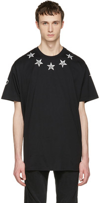 Givenchy Black Tattoo T-Shirt $595 thestylecure.com