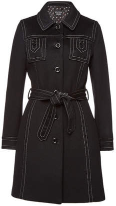 Moschino Belted Coat