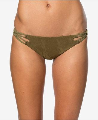O'Neill Lana Lace Macrame Cheeky Bikini Bottoms Women's Swimsuit $48 thestylecure.com