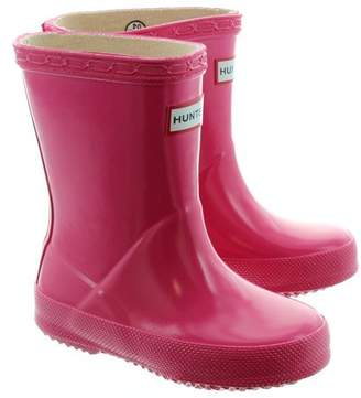 Hunter Boots Infant's First Classic Gloss Rain Boot 11 M US
