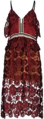 Couture NJ 3/4 length dresses