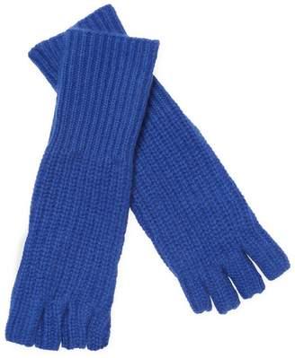 White + Warren Women's Cashmere Fingerless Long Shaker Glove