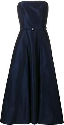 Aspesi strapless flared dress