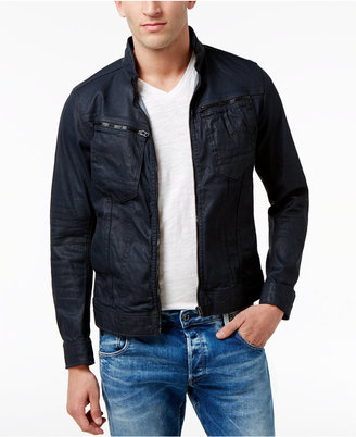 G-Star Raw Men's Arc Zip Deconstructed 3D Jacket $160 thestylecure.com