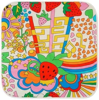 Gucci Baby rainbow pop print blanket