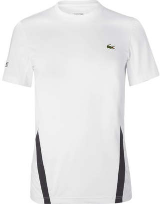 Lacoste Tennis Novak Djokovic Stretch-Jersey Tennis T-Shirt