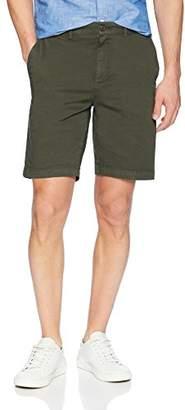 "Goodthreads Men's 9"" Inseam Flat-Front Stretch Chino Shorts"