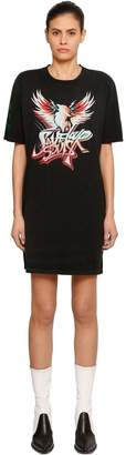 Givenchy Save Our Souls Print Cotton Jersey Dress