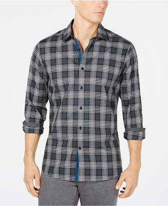 Ryan Seacrest Distinction Men's Plaid Shirt, Created for Macy's