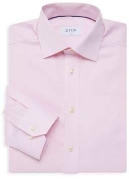 Eton Slim-Fit Twill Button-Down Shirt