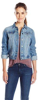 Buffalo David Bitton Women's Nova Classic Denim Jacket $99 thestylecure.com