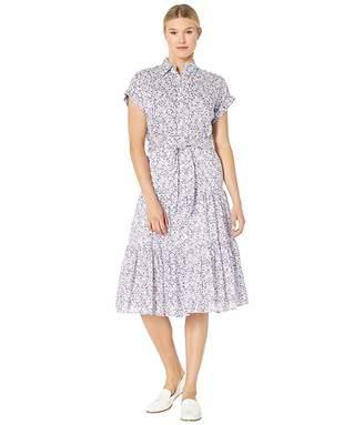 Lauren Ralph Lauren Tiered-Hem Dress